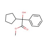 Methyl 2 Cyclopentyl Hydroxy Phenylacetate